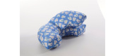 Inflatable Breastfeeding Pillow - Blue