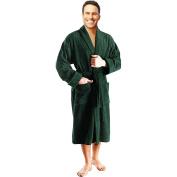 Bottle Green 100% soft cotton Terry Towelling robes gowns bath robe, bathrobes, bathrobe