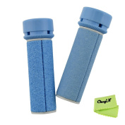 Ckeyin ® Extra Regular And Coarse Replacement Refill Rollers for Micro Pedi