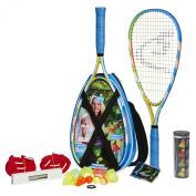 Speedminton S700 Racquet Set - Yellow/Green/Blue