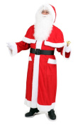 Santa Claus Costume Coat with protection cover, standard Adult Size 56 / 58
