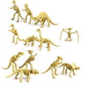 LEORX Dinosaur Toy Skeleton Model Kit Assorted Set 12pcs