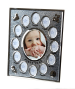 Hugs & More Baby First Year Photo Frame Gift