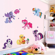 My Little Pony Removable Vinyl Wall Sticker Mural Decal Art Home Decoration