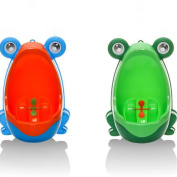 Yantu 2PCS Frog Children Potty Toilet Training Kids Urinal for Boys Pee Trainer Bathroom