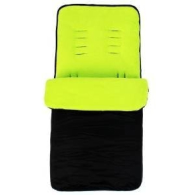 Universal Super Soft Footmuff To Fit Graco - Lime