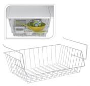 Laminated Large Under Shelf Undershelf Kitchen Bathroom Storage Basket Caddy