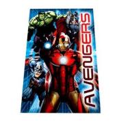 Marvel Avengers Assemble Warm Polar Fleece Blanket Throw Kids Childrens Boys Bedding