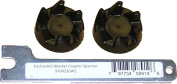 2 x KitchenAid blender black rubber coupler coupling clutch gear 9704230 + 1 x Spindle Spanner removal tool