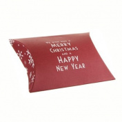 East of India We wish you a Merry Christmas Pillow Giftbox