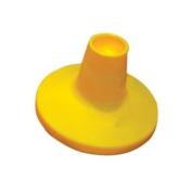 PVC Cricket Batting Tee Yellow & Red