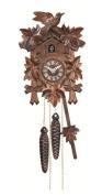Quartz Cuckoo Clock 5-leaves, bird EN 522 Q