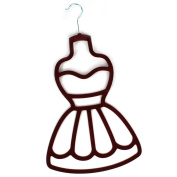Burgundy Dress Scarf Hanger Wardrobe Organiser