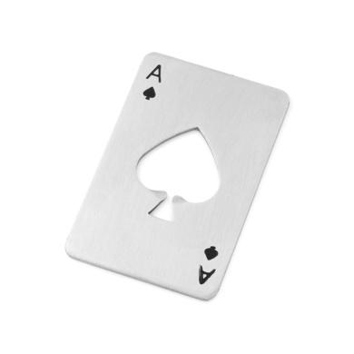 'Ace of Spades' Card Bottle Opener