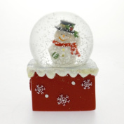 Snowman with Hat Snow Globe Waterball