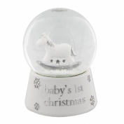 "Bambino Resin Snow Globe Waterball ""Baby's 1st Christmas"