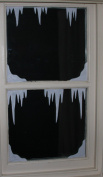 Christmas Window Decorations Snow Corners and Icicles. Static Cling Stickers. Fast Dispatch and.