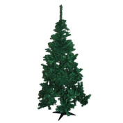 Large 1.5m Artificial Pine Natural Look 350 Tip Fern Green Home Christmas Tree