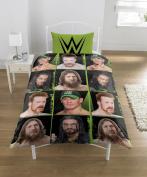 Character WWE 'Superstars' Rotary Single Duvet Cover