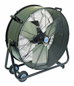 "Prem-i-Air 24"" (61 cm) Portable Drum Fan - with wheels"