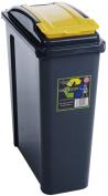Wham Recycling Bin 25Ltr Yellow