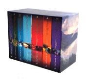 QUICKBOOKSALES | Harry Potter 7 Books The Complete Collection Paperback Boxed Set Children Edition | CHRISTMAS PRESENT | EXPRESS SHIPPING