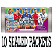 Topps Match Attax Barclays premier league 2015 2016 cards - 10 sealed booster packets