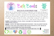 Bath Bombs Gift Set-6 Lush and Luxurious Bath Fizzies-Natural Ingredients-Essential Oil Infused-Each Spa Bomb Fizzy is Made With Organic Shea Butter and Cocoa Butter, Includes Bonus Large Pumice Stone, Moisturise, Relax, and Rejuvenate, Handmade in the ..