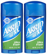 Arrid XX Solid Antiperspirant & Deodorant-Ultra Fresh-80ml, 2 pk