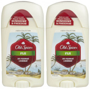 Old Spice Fresh Collection Invisible Solid Antiperspirant/Deodorant, Fiji - 80ml - 2 pk