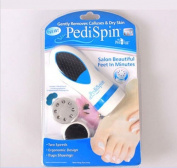 New Pedi Spin : Electronic Foot Care Callus Remover Calluses Dry Skin Pedicure Kit : Electronic Foot Care
