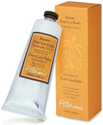 Attirance - Foot Care Balm - Coconut - 120ml - All Natural with Coconut Oil, Shea Butter & Arnica Extract