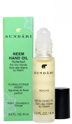 Sundari Neem Hand Oil for Dry Hands ~ with Rollerball ~ Floral/Citrus Scent