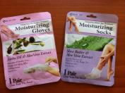 moisturising GLOVES & SOCKS 1PC+1PC