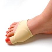 Veewon® Gel Lined Bunion Pads Bunion Sleeve Toe Spreader Protector Corrector Pad
