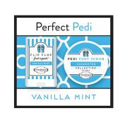 Perfect Pedi Mini Flip Flop Foot Repair & Foot Scrub by PURE Factory - Vanilla Mint