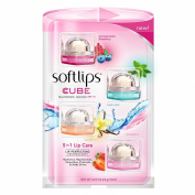 Softlips Cube 5 in 1 Lip Care - 4 Cubes