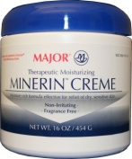 Major Therapeutic Moisturising Minerin Creme 470ml for Dry, Sensitive Skin Pack of 6