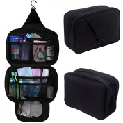 HDE Personal Travel Shower Organiser Hanging Toiletry Wash Bag Bathroom Tote
