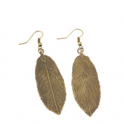2 Pairs Jewellery Making Charms Supply Supplies Wholesale Fashion Earring Backs Findings Ear Hooks Y1FP8 Leaf Leaves