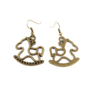 30 Pairs Jewellery Making Charms Supply Supplies Wholesale Fashion Earring Backs Findings Ear Hooks R2XM8 Rocking Horse