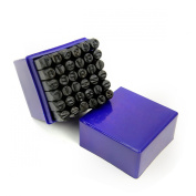 Professional 36 pcs Number & Letters Stamp Punch Set 0.3cm