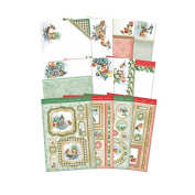 Hunkydory Little Robin Redbreast Deluxe Collection Foiled Card Kit