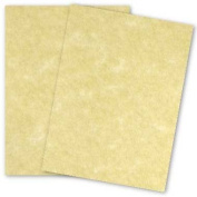 Astroparche Ancient Gold Paper - 8 1/2 x 11 in 27kg Text Vellum 30% Recycled 50 per pack