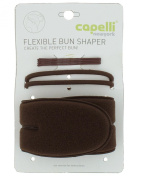 Capelli New York Flexible Bun Shaper With 4 Bobby Pins & 2 Pony Holders