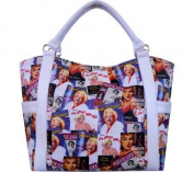 Marilyn Monroe Signature Product Women's Marilyn MonroeTM Collage Shopping Bag MM
