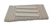 Mini White Salon Cushion Board Nail File 8.9cm Long by 1.3cm Wide (50 Pack) Jaylie TM