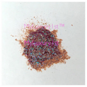Brownish Red Teal Blue Green Tinted Glittering Shimmer Powder 2g Sample for Melt and Pour Soap Cosmetic Eye Lip Nail Art Making Mica Pigment 2 Gramme