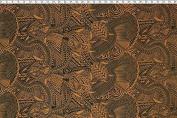Samoan Turtle Tattoo Print Brown