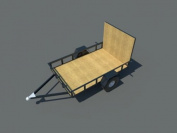 Build your own 1.5m X 2.4m Trailer (DIY Plans) Fun to build! Save money!